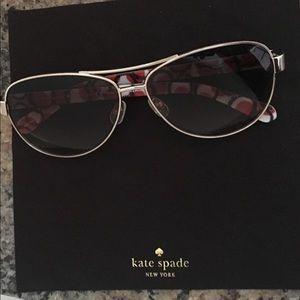 kate spade Jewelry - Kate Spade Aviator Sun Glasses